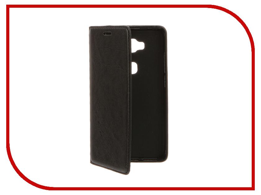 Аксессуар Чехол Huawei Honor 5X Cojess Book Case New Black сотовый телефон huawei honor 8 pro black