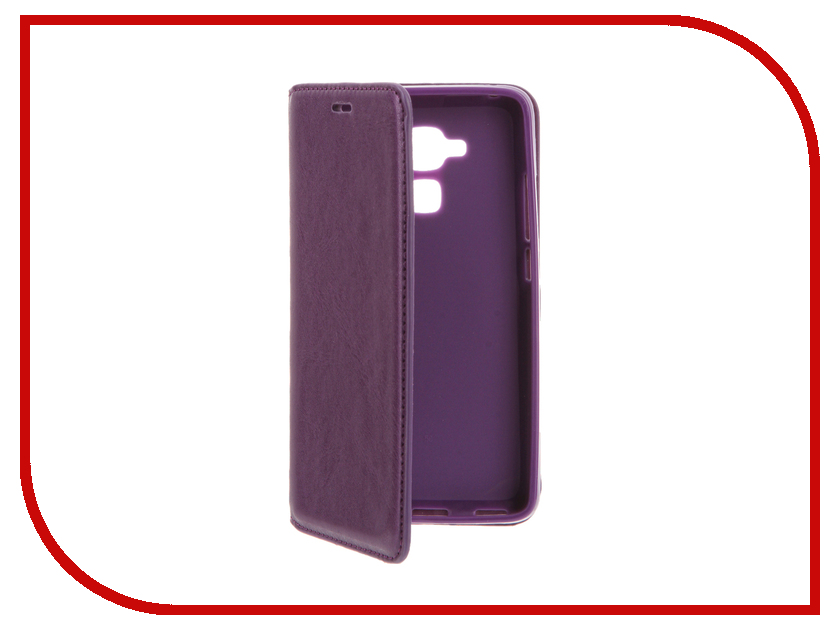 Аксессуар Чехол Huawei Honor 5C Cojess Book Case New Purple<br>