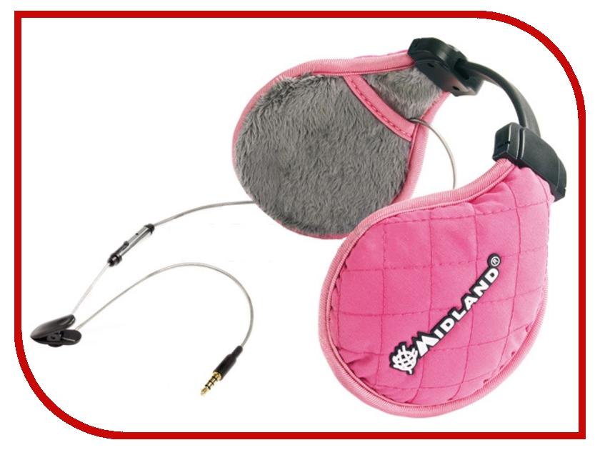 Гарнитура Midland Subzero Music Pink<br>