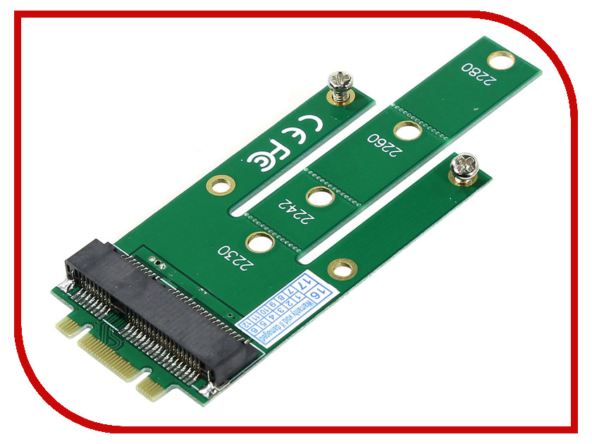 Аксессуар Переходник Orient C293S SSD NGFF (M.2) to mSATA ssd add on cards 2 5 enclosure adapter u 2 sff 8639 to m 2 pci e i f with cable ngff convert card
