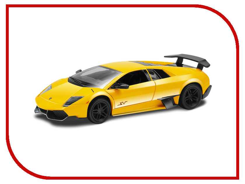 Игрушка Hoffmann Lamborghini Murcielago LP SV Orange-Yellow 48261<br>