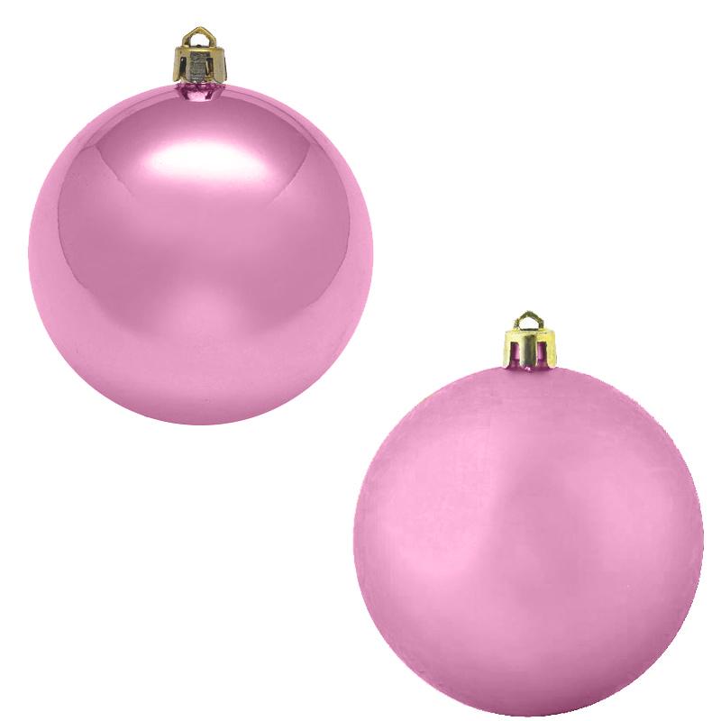 Украшение Kaemingk Набор шаров 4шт Pink 022215 украшение kaemingk набор шаров новогодняя коллекция 34шт silver 023151