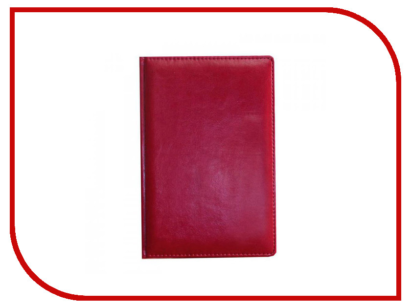 Ежедневник Attache Nebraska 137x203mm Bordeaux<br>