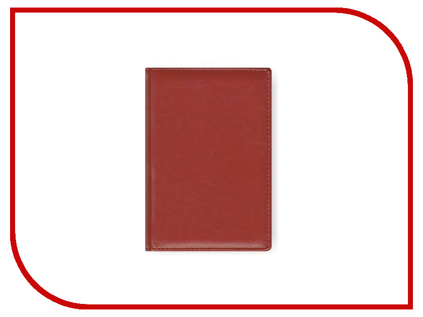 Ежедневник Attache Nebraska 148x218mm Bordeaux<br>