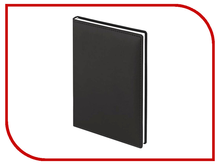 Ежедневник Attache Velvet А5 140x200mm Black<br>