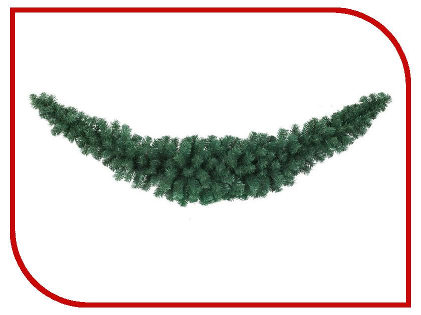 Хвойный декор Kaemingk Сваг Полумесяц 180cm 680287<br>