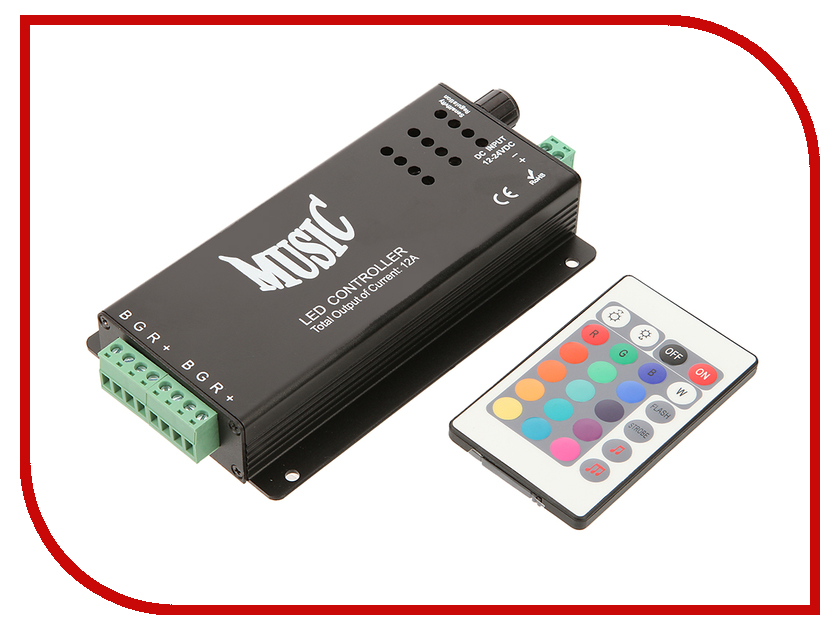 Контроллер SWGroup LED RGB Music 120W 12V<br>