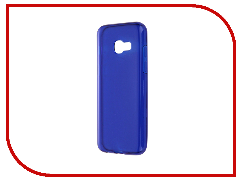 Аксессуар Чехол-накладка Samsung Galaxy A3 2017 iBox Crystal Blue