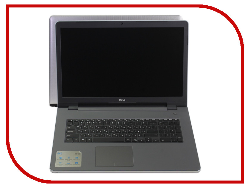 Ноутбук Dell Inspiron 5758 5758-8156 Intel Core i7-5500U 2.4 GHz/8192Mb/1000Gb/DVD-RW/nVidia GeForce 920M 2048Mb/Wi-Fi/Bluetooth/Cam/17.3/1920x1080/Windows 10 64-bit<br>