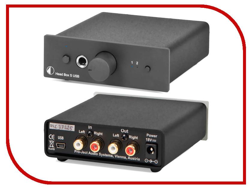 Усилитель для наушников Pro-Ject HEAD BOX S USB Black<br>