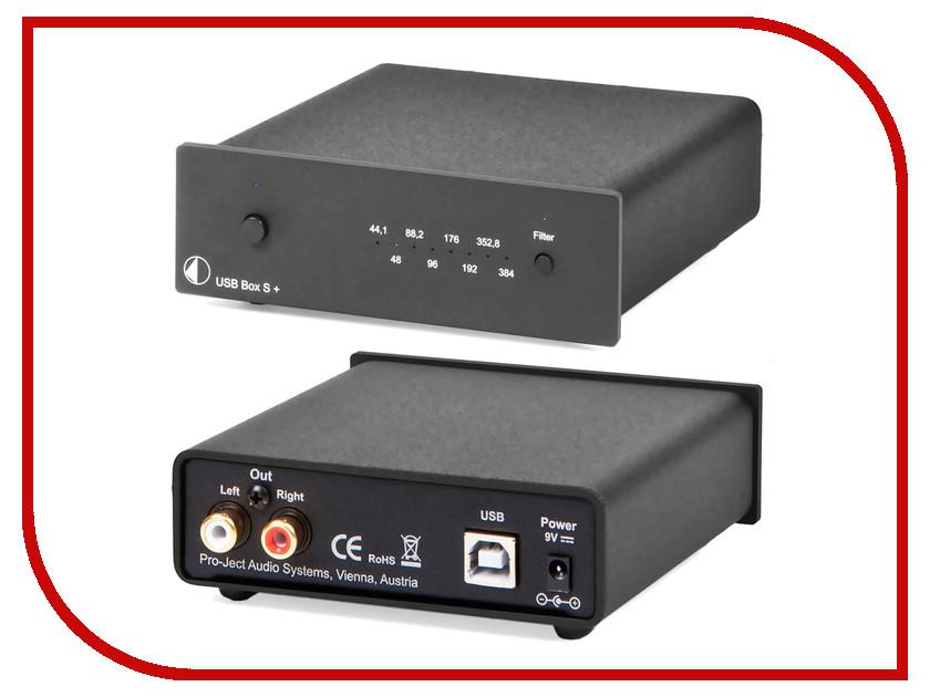 ЦАП Pro-Ject USB BOX S+ Black<br>
