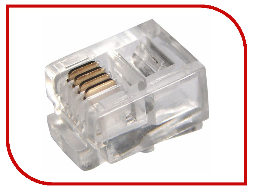 Розетка ProConnect 6P4C 05-1012-3-7<br>