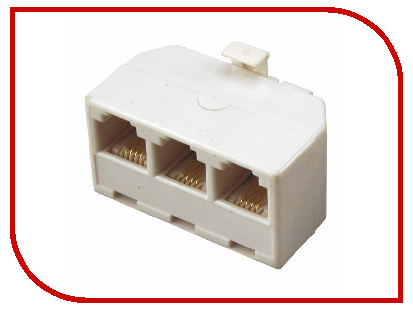Розетка ProConnect 6P4C 03-0041-9<br>