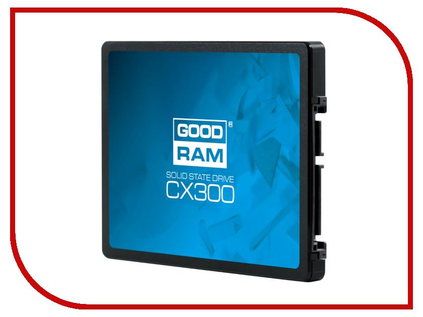 Жесткий диск 120Gb - GoodRAM CX300 SSDPR-CX300-120 наушник sennheiser cx300 ii precision черный