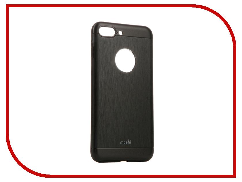 Аксессуар Чехол Moshi Armour для APPLE iPhone 7 Plus Onyx Black 99MO090004 аксессуар чехол аккумулятор aksberry 2800 mah для iphone 7 black onyx