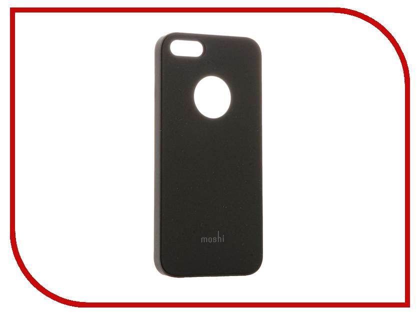 Аксессуар Чехол Moshi iGlaze для APPLE iPhone SE /5S /5 Graphite Black 99MO061001<br>