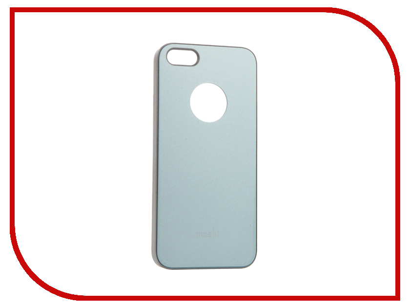 Аксессуар Чехол Moshi iGlaze для APPLE iPhone SE /5S /5 Coral Blue 99MO061501<br>