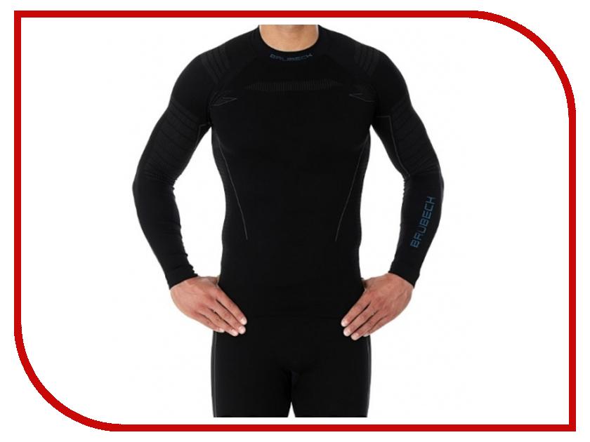 цена Рубашка Brubeck Nilit Heat XL Black мужская онлайн в 2017 году