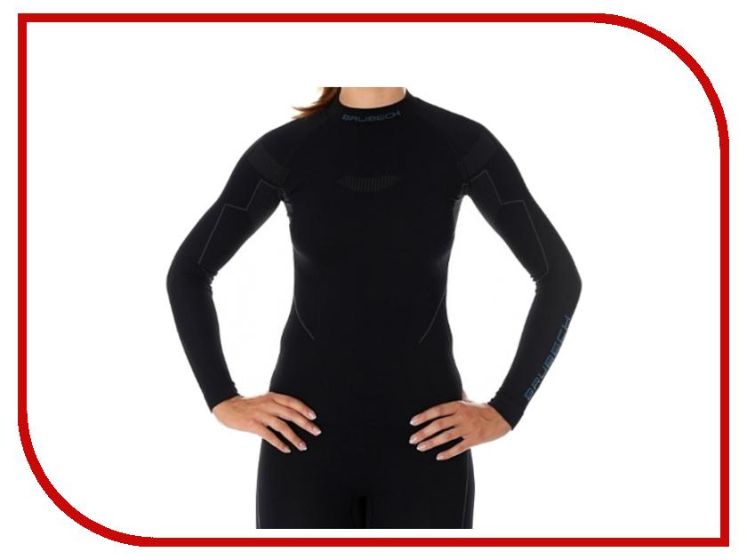 цена Рубашка Brubeck Nilit Heat Black XL женская онлайн в 2017 году
