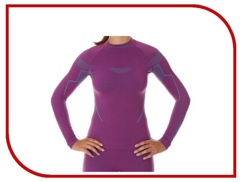 цена Рубашка Brubeck Nilit Heat Plum XL женская онлайн в 2017 году