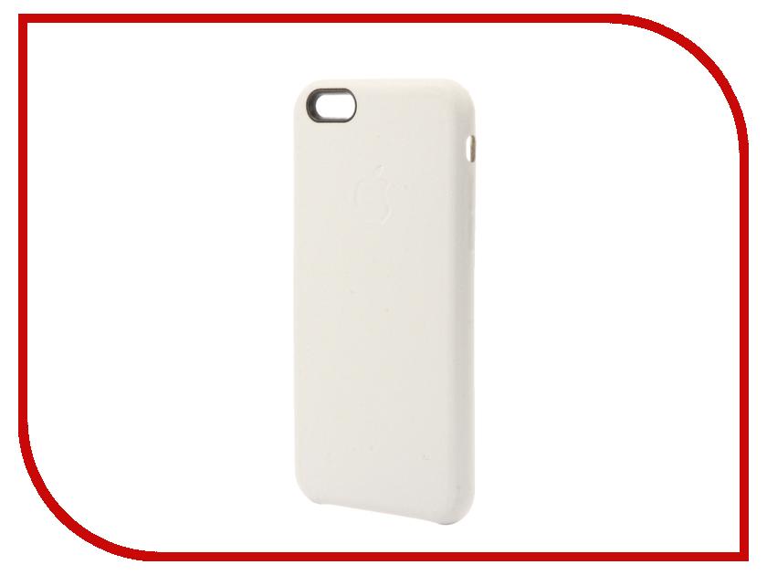 Аксессуар Чехол Krutoff Leather Case для iPhone 6/6S White 10751<br>