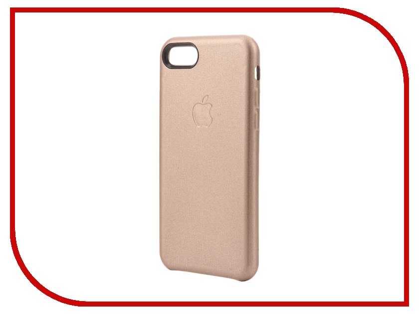 Аксессуар Чехол Krutoff Leather Case для iPhone 7 Rose Gold 10766<br>