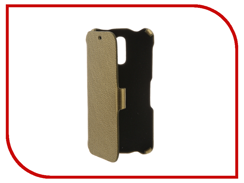 Аксессуар Чехол BQ BQS-5520 Mercury Cojess Ultra Slim Book Экокожа флотер Gold bq mobile bq bqs 5050 strike selfie розовый
