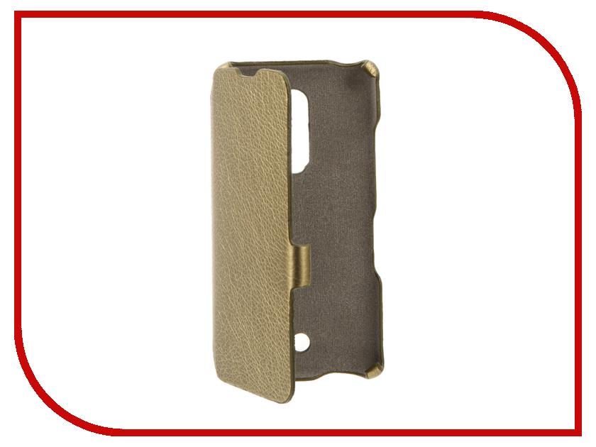 Аксессуар Чехол BQ BQS-5050 Strike Selfie Cojess Ultra Slim Book Экокожа флотер Gold