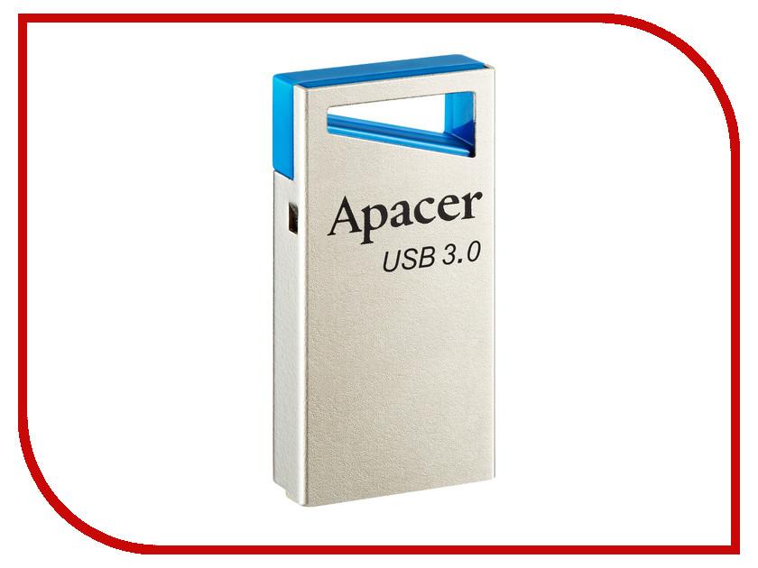 USB Flash Drive 16Gb - Apacer AH155 Blue USB 3.0 AP16GAH155U-1<br>