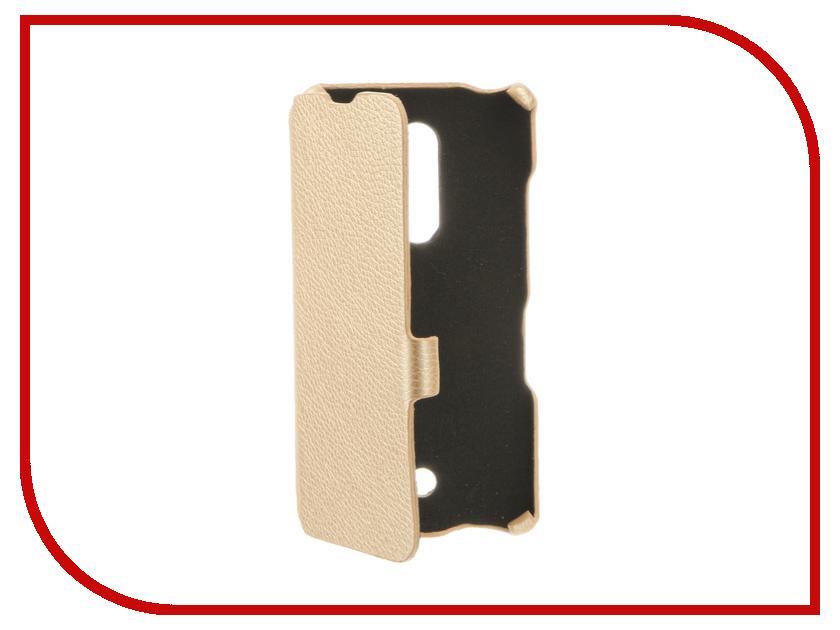 Аксессуар Чехол BQ BQS-5050 Strike Selfie Cojess Ultra Slim Book Экокожа флотер Light Beige