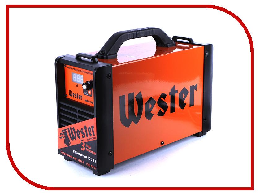 Сварочный аппарат Wester MMA-VRD 200 сварочный аппарат инверторный wester mma vrd 160