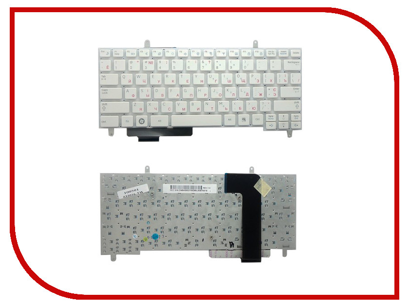 Клавиатура TopON TOP-100501 для Samsung N210/N220 White