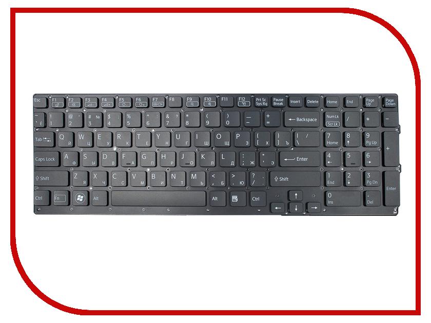 Клавиатура TopON TOP-95591 для Sony Vaio VPC-SE Series Black<br>