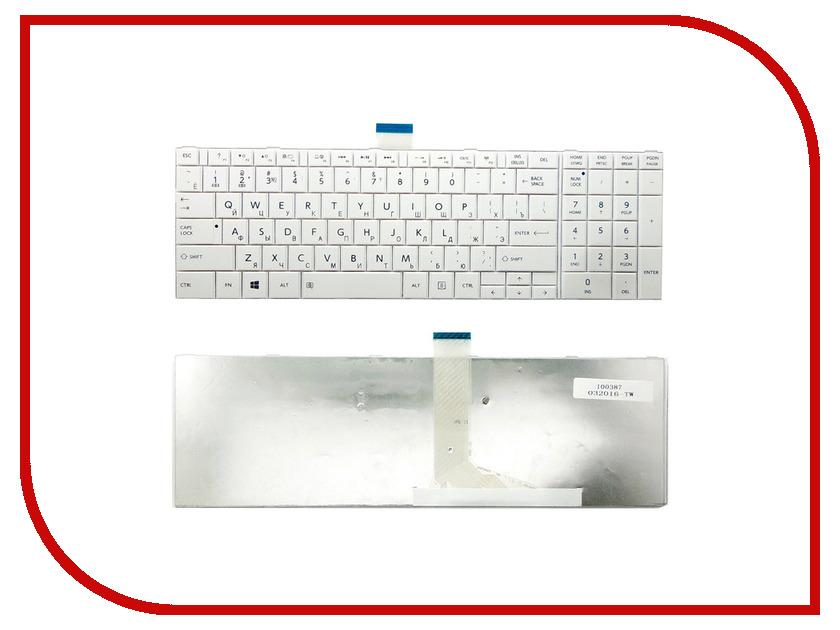 Клавиатура TopON TOP-100387 для Toshiba Satellite C850/C850d/C855/L850/L850d/C870/C875 Series White<br>