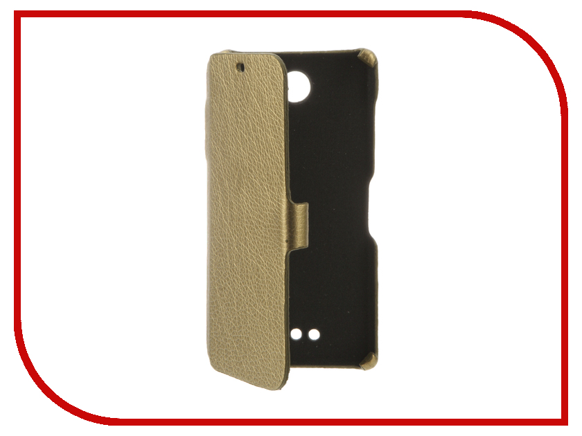 Аксессуар Чехол BQ BQS-5070 Magic Cojess Ultra Slim Book Экокожа флотер Light Gold