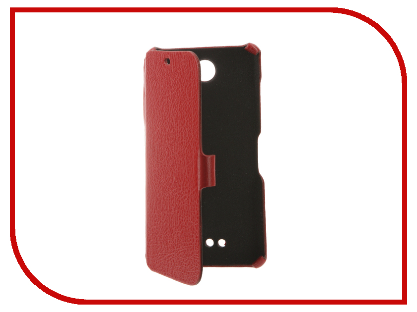 Аксессуар Чехол BQ BQS-5070 Magic Cojess Ultra Slim Book Экокожа флотер Red<br>