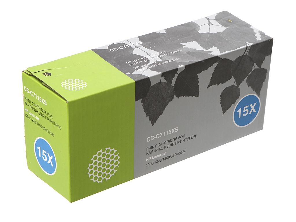 Картридж Cactus CS-C7115XS Black для HP LJ 1200/1220/1300/3300/3380 rg0 1013 for hp laserjet 1000 1150 1200 1300 3300 3330 3380 printer paper tray