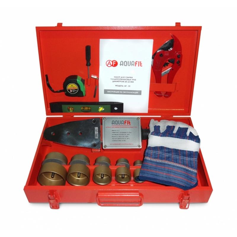 Аппарат для сварки пластиковых труб MasterProf Aquatool PPRC 1500 W 20-63 090786