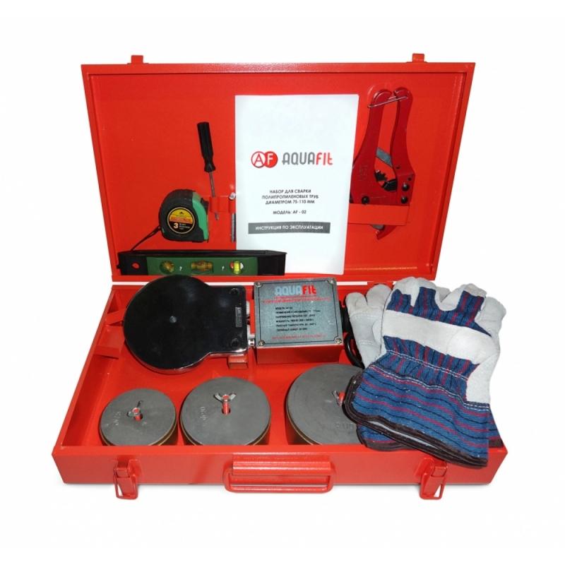 Аппарат для сварки пластиковых труб MasterProf Aquatool PPRC 1800 W 75-110 090946
