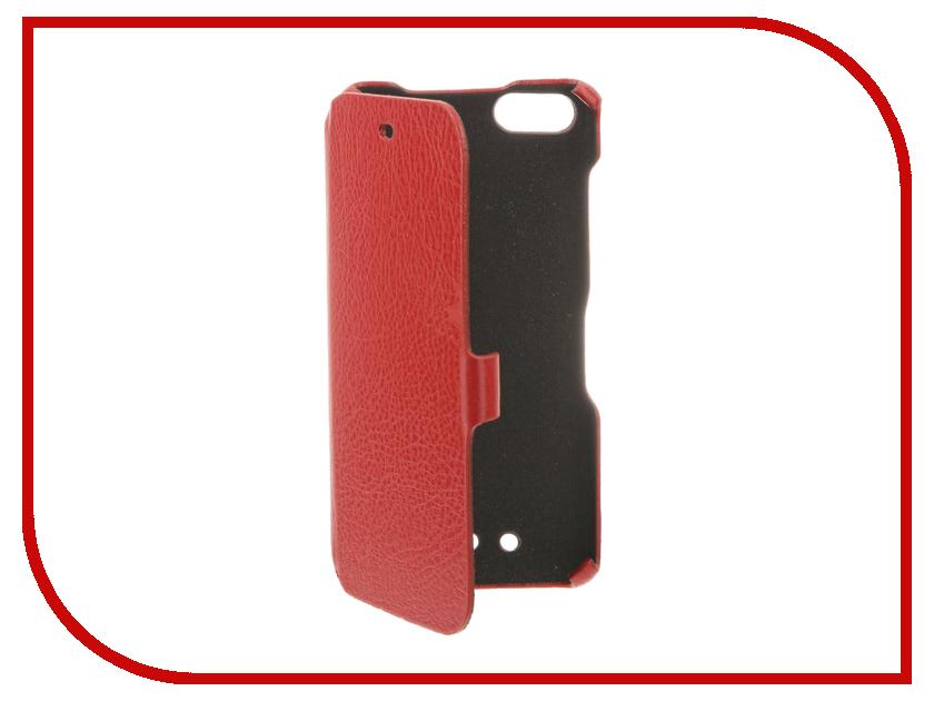Аксессуар Чехол BQ BQS-5020 Strike Cojess Ultra Slim Book Экокожа флотер Red<br>