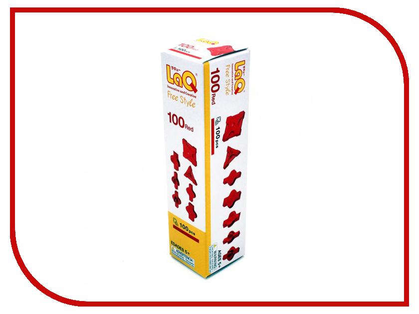 Игрушка Конструктор LAQ Free Style 100 Red<br>