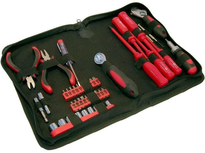 Набор инструмента FIT 65140 набор инструмента в пластмассовом кейсе 26 шт fit it 65125