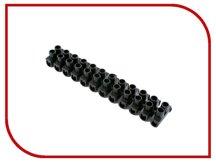 Все ножи, мультитулы и все для них Колодка клеммная ProConnect KB-6 6A 6mm Black 07-5006-2-9<br>