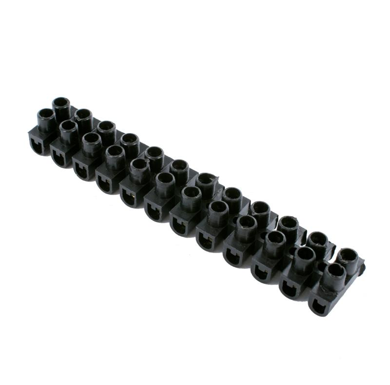 Колодка клеммная ProConnect KB-4 3A 4mm Black 07-5004-2-9