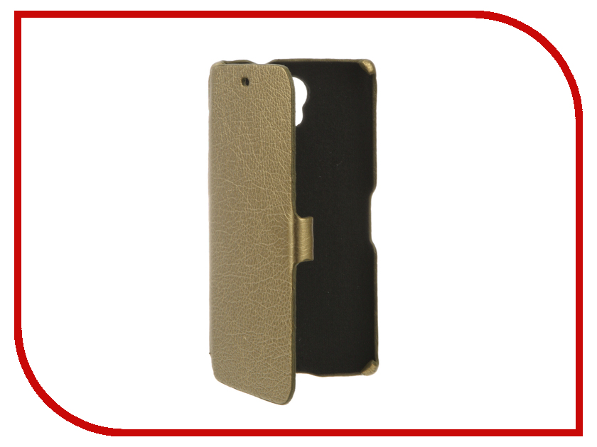 Аксессуар Чехол BQ BQS-5502 Hammer Cojess Ultra Slim Book Экокожа флотер Gold аксессуар чехол bq bqs 5065 choice cojess ultra slim book экокожа флотер light blue