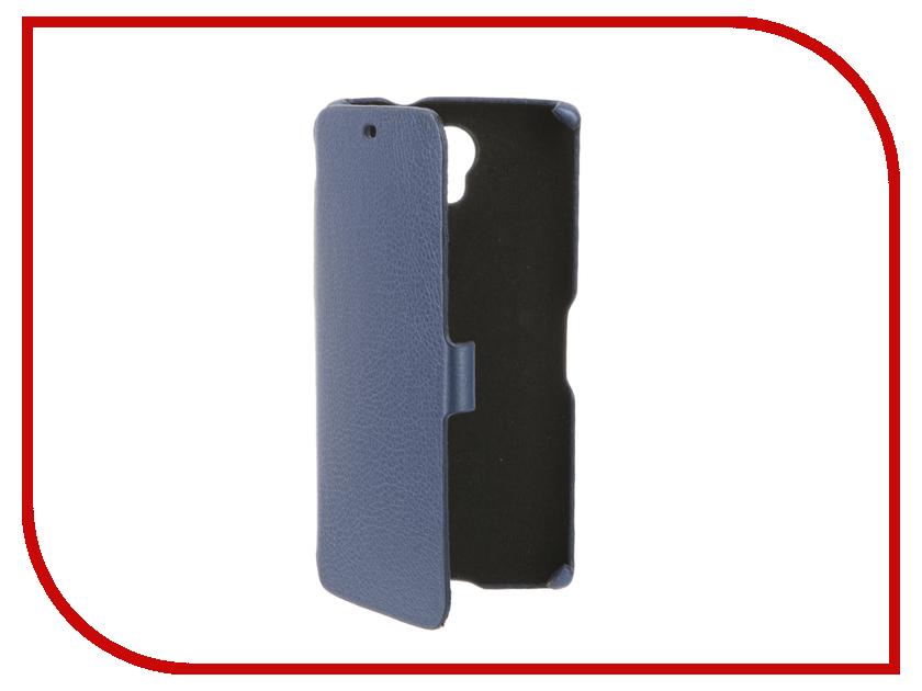 Аксессуар Чехол BQ BQS-5502 Hammer Cojess Ultra Slim Book Экокожа флотер Light Blue