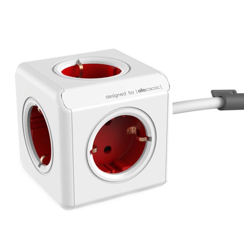 Удлинитель Allocacoc Extended DE 1.5m Red 1300RD/DEEXPC