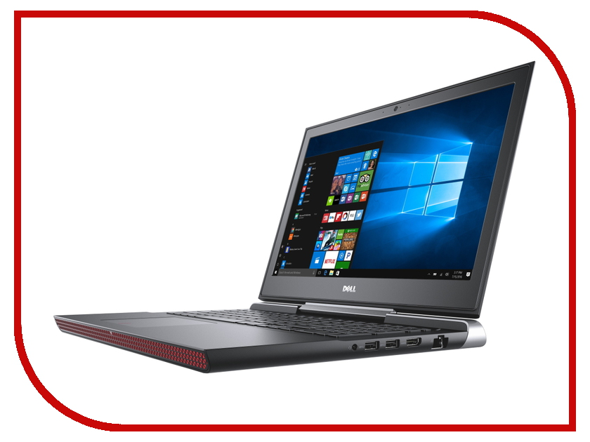 Ноутбук Dell Inspiron 7566 7566-9661 Intel Core i7-6700HQ 2.6 GHz/16384Mb/1000Gb + 128Gb SSD/nVidia GeForce GTX 960M 4096Mb/Wi-Fi/Bluetooth/Cam/15.6/1920x1080/Windows 10 64-bit<br>