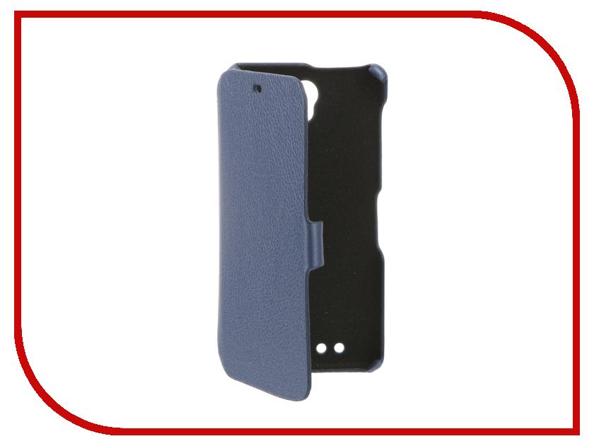 Аксессуар Чехол BQ BQS-5515 Wide Cojess Ultra Slim Book Экокожа флотер Light Blue<br>