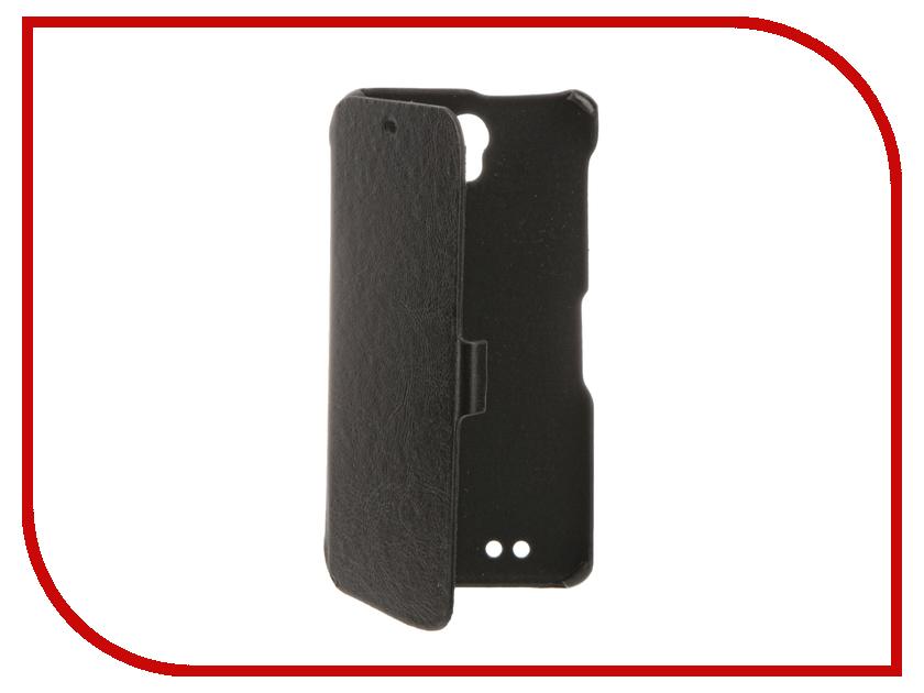Аксессуар Чехол BQ BQS-5515 Wide Cojess Ultra Slim Book Экокожа флотер Black<br>